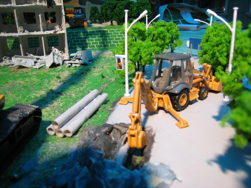 施工场景模型